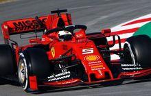 Selalu Kalah dari Mercedes, Begini Komentar Sebastian Vettel