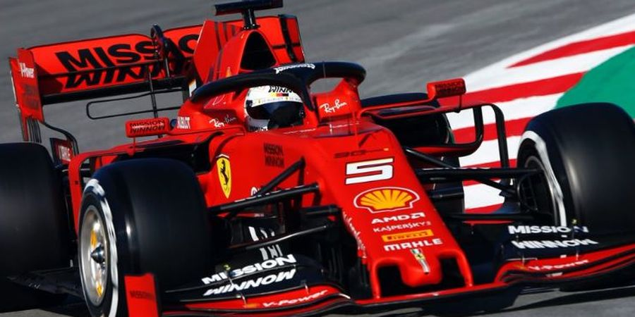 Sebastian Vettel Akui Kesalahan Membuat Dirinya Tak Raih Podium