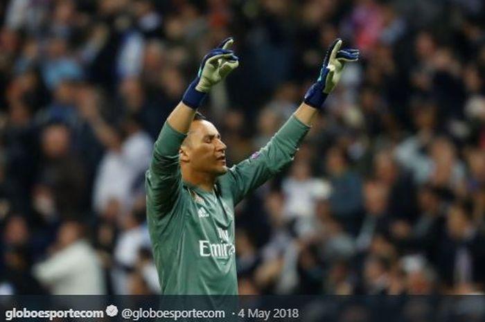 Kiper Real Madrid, Keylor Navas.
