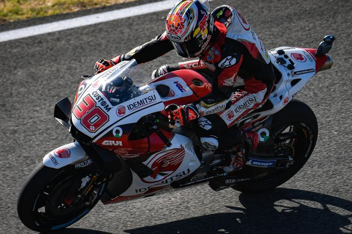 Pebalap LCR Honda, Takaaki Nakagami tercepat di FP1 MotoGP Ceska 2020.