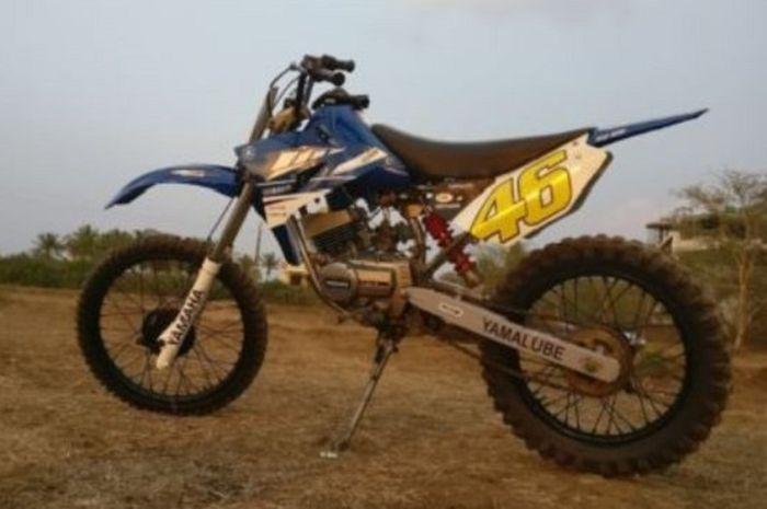 Yamaha YZ125 jadi inspirasi penggarapan
