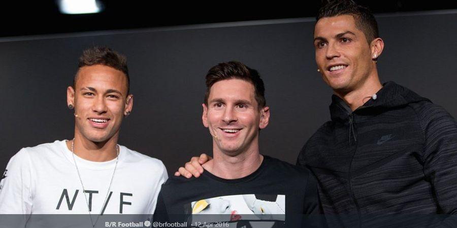 Messi dan Ronaldo Kalah, Neymar Terbaik di Eropa Berdasarkan Ini