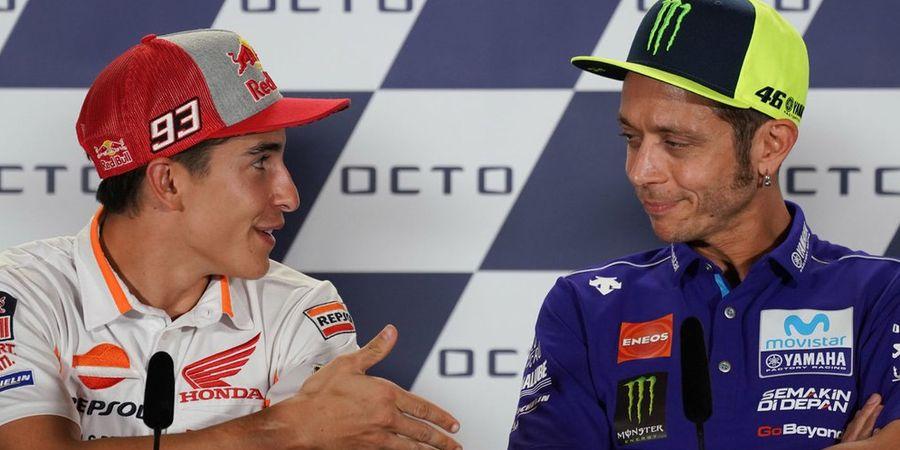 Marc Marquez Minggir! Inilah Pembalap MotoGP yang Paling Bikin Valentino Rossi Repot