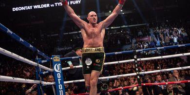 Dianggap Berjasa saat Hadapi Otto Wallin, Tyson Fury Berikan Bonus pada Sosok ini