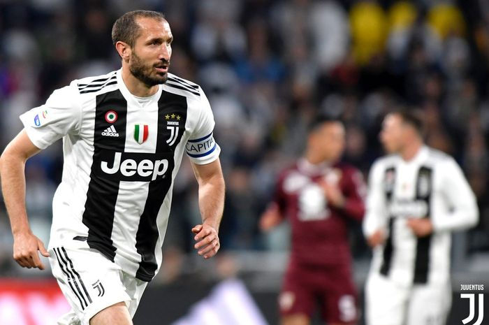 Giorgio Chiellini mencatatkan rekor buruk di penampilan ke-400 di Liga Italia, dan laga ke-500 bersama Juventus.