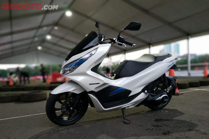 Honda PCX Electric yang resmi diperkenalkan di Indonesia