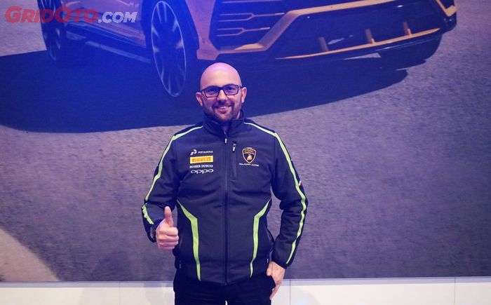 Head of Motorsport Automobili Lamborghini, Giorgio Sanna