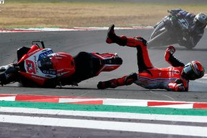 Nyaris Celaka, Francesco Bagnaia Ingin Jaminan Sirkuit MotoGP Selalu Bersih Sebelum Balapan