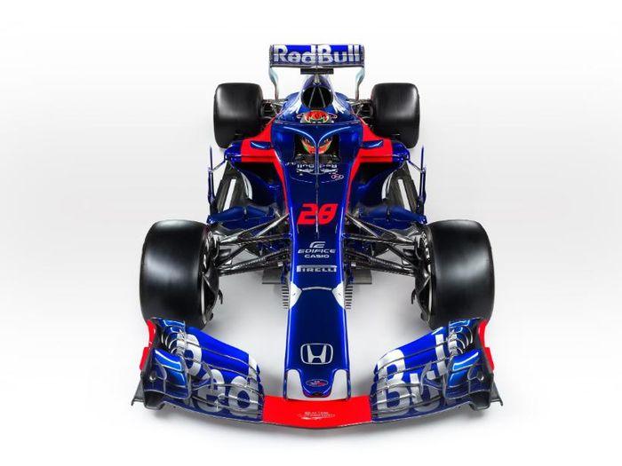 Mobil F1 tim Toro Rosso yang digunakan di musim 2018