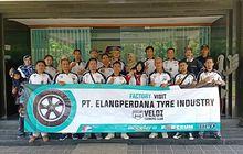 Tambah Pengetahuan, Veloz Owners Club Kunjungi Pabrik Ban PT Elangperdana Tyre Industry