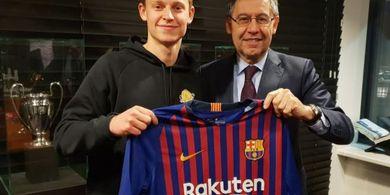 Wejangan Ronald Koeman Tuntun Langkah Frenkie de Jong ke Barcelona
