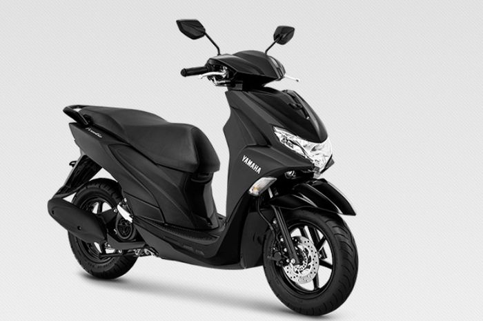 Yamaha FreeGo hitam doff ada di tipe standar