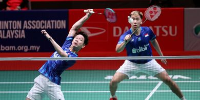 Hasil Indonesia Mastes 2020 - Taklukkan Juara SEA Games, Marcus/Kevin ke Final