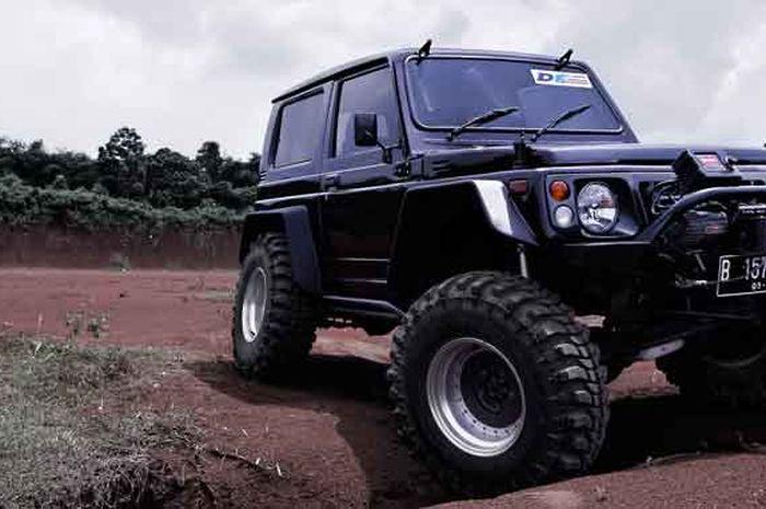 Suzuki Jimny berkaki besar