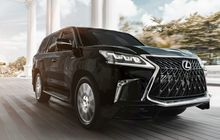 Lexus Perkenalkan New LX 570 Sport, Munculkan Kesan Semakin Kuat
