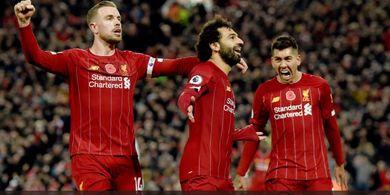 Detik-detik Mohamed Salah Mencetak Sebuah Gol Gaib Kontra Salzburg