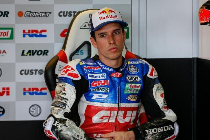 Pembalap MotoGP yang bertarung bersama tim LCR Honda, Alex Marquez.