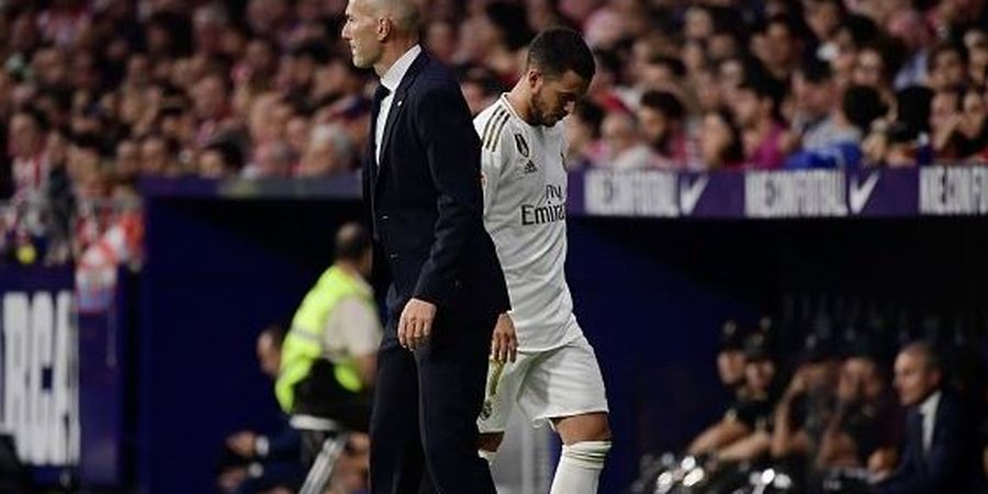 Zidane Teringat Dirinya saat Melihat Start Eden Hazard di Real Madrid
