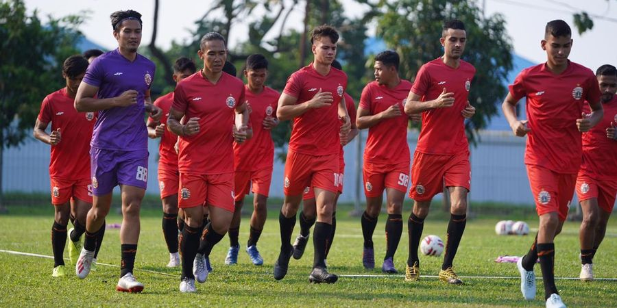 Bambang Pamungkas Instruksikan Para Pemain Persija Latihan Mandiri