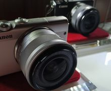 Masih Jadi Andalan, Canon Mirrorless M100 Ini Seharga Rp 5 Jutaan