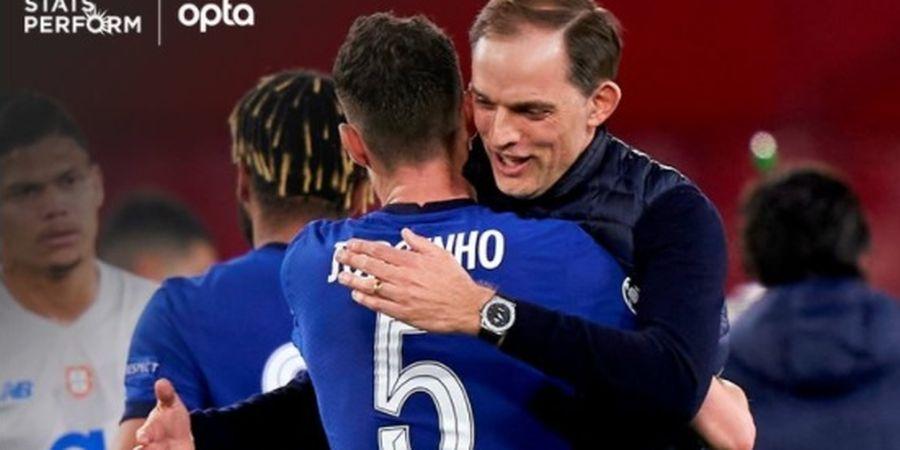 Berjasa untuk Chelsea, Legenda Brasil Sarankan The Blues Buatkan Jorginho Patung