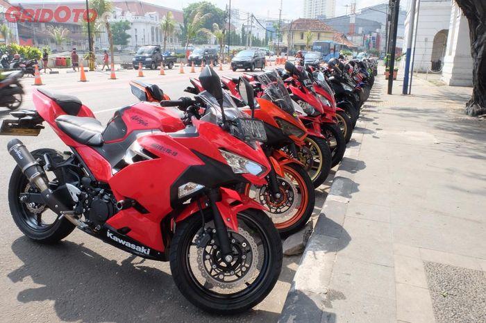Deretan New Kawasaki Ninja 250 milik member NNR