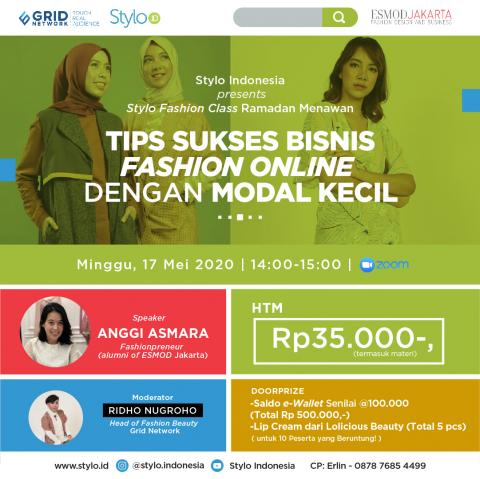 Stylo Fashion Class Ramadan Menawan: Tips Sukses Bisnis ...