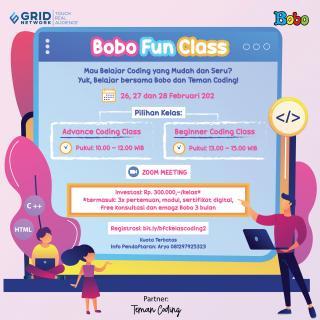 Bobo Fun Class - Coding For Kids