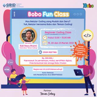 Bobo Fun Class - Coding for Kids (Beginner)